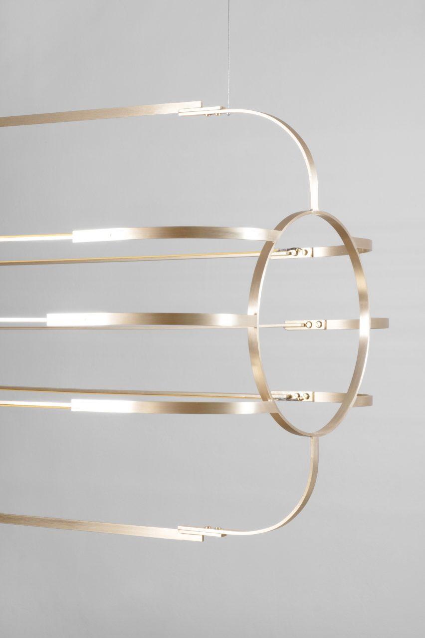 Charlotte pendant light by Daniel Becker Studio