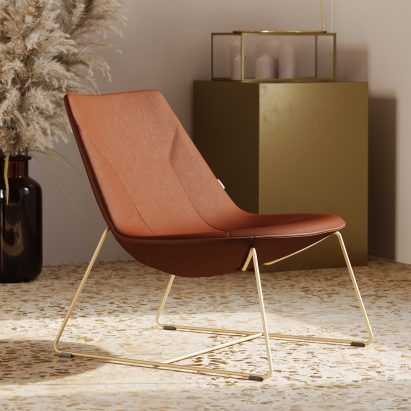 Chic Lounge chair by Profim