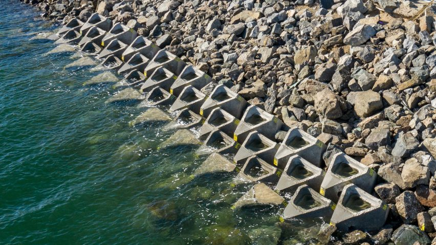 Man-made rock pools installed at San Diego Bay