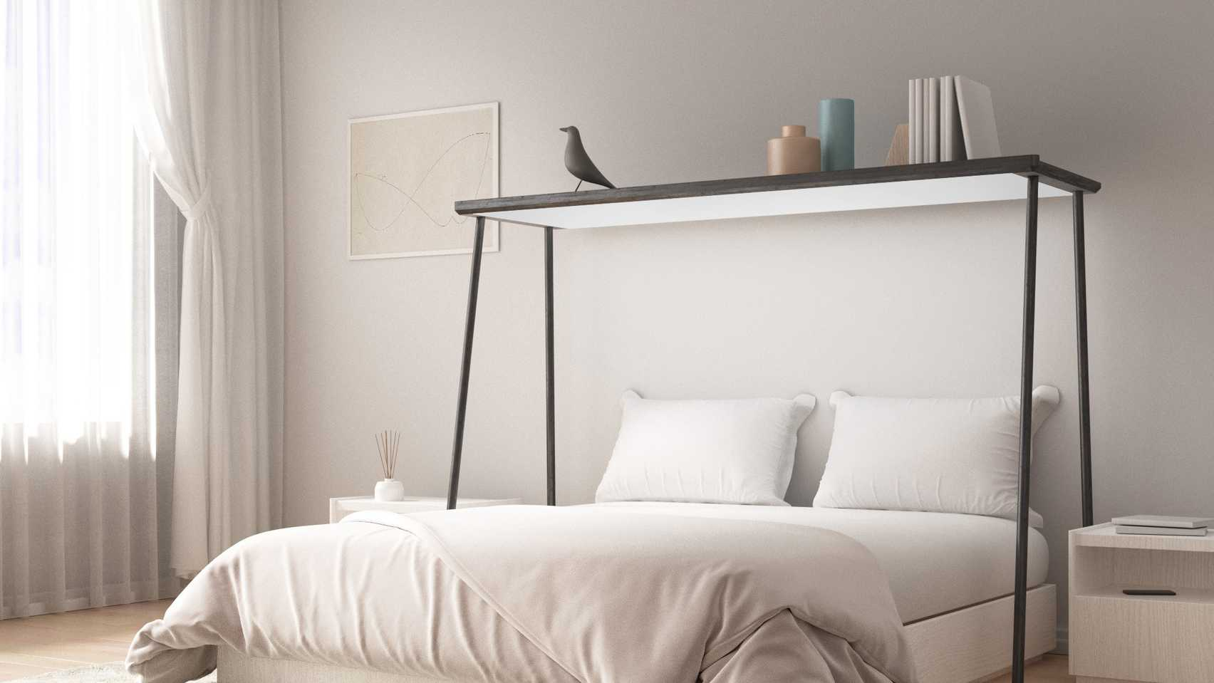 Console by Gianfranco Vasselli over-bed screen on the Dezeen and LG Display OLED Go competition shortlist
