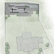 The site plan for a private spa by Smartvoll