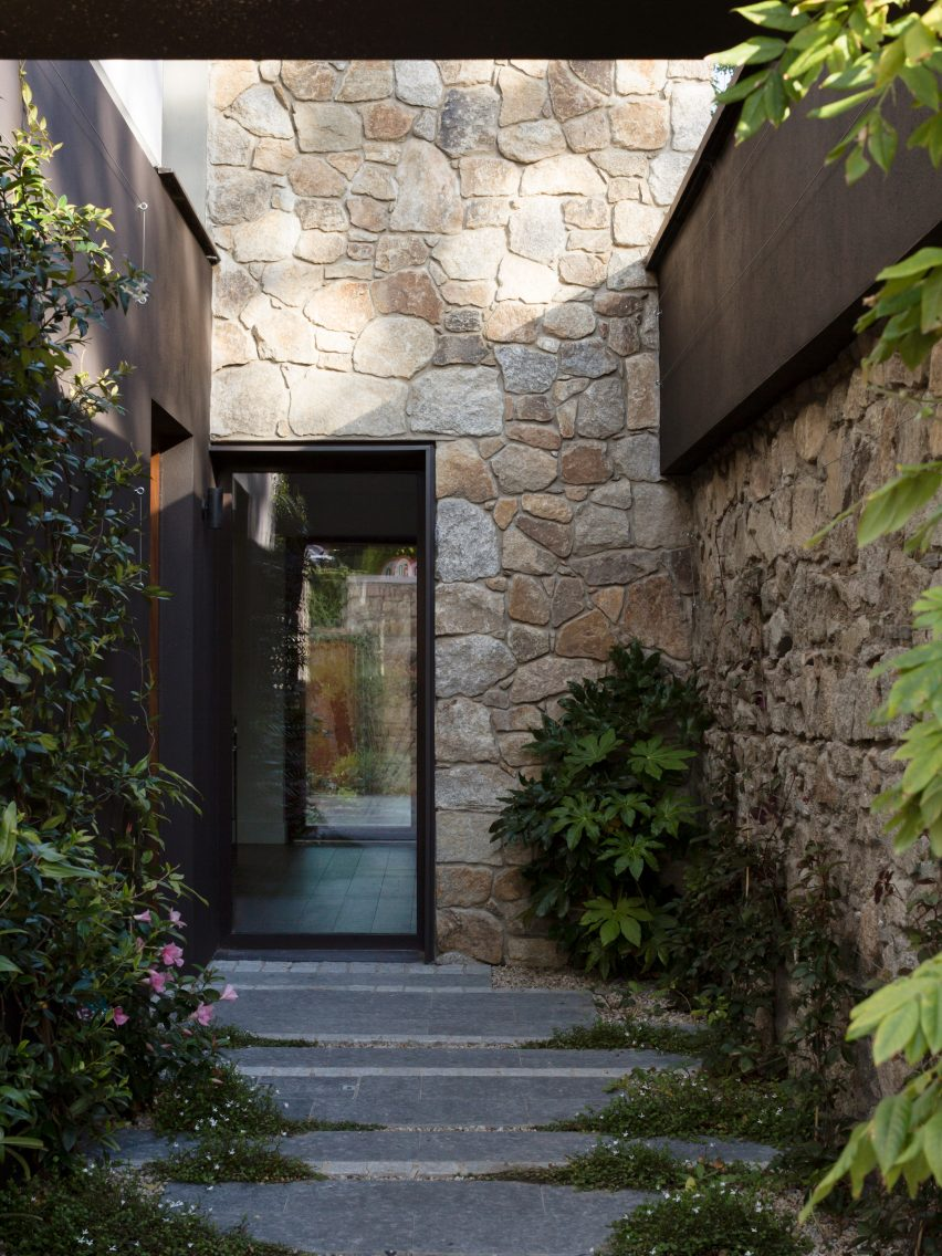 Front door to Corner House by Studio 304