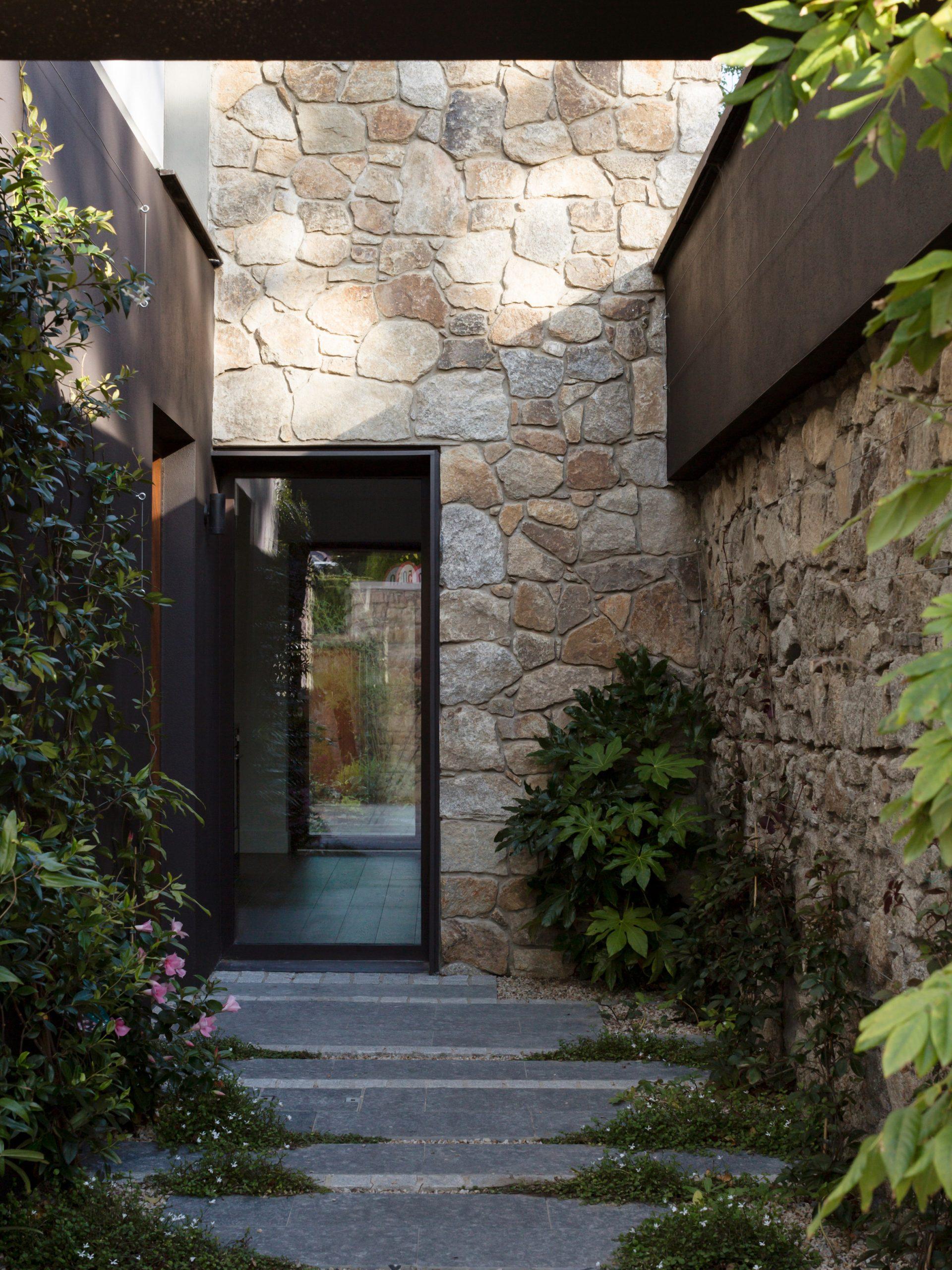 Front door to Corner House by Studio 304