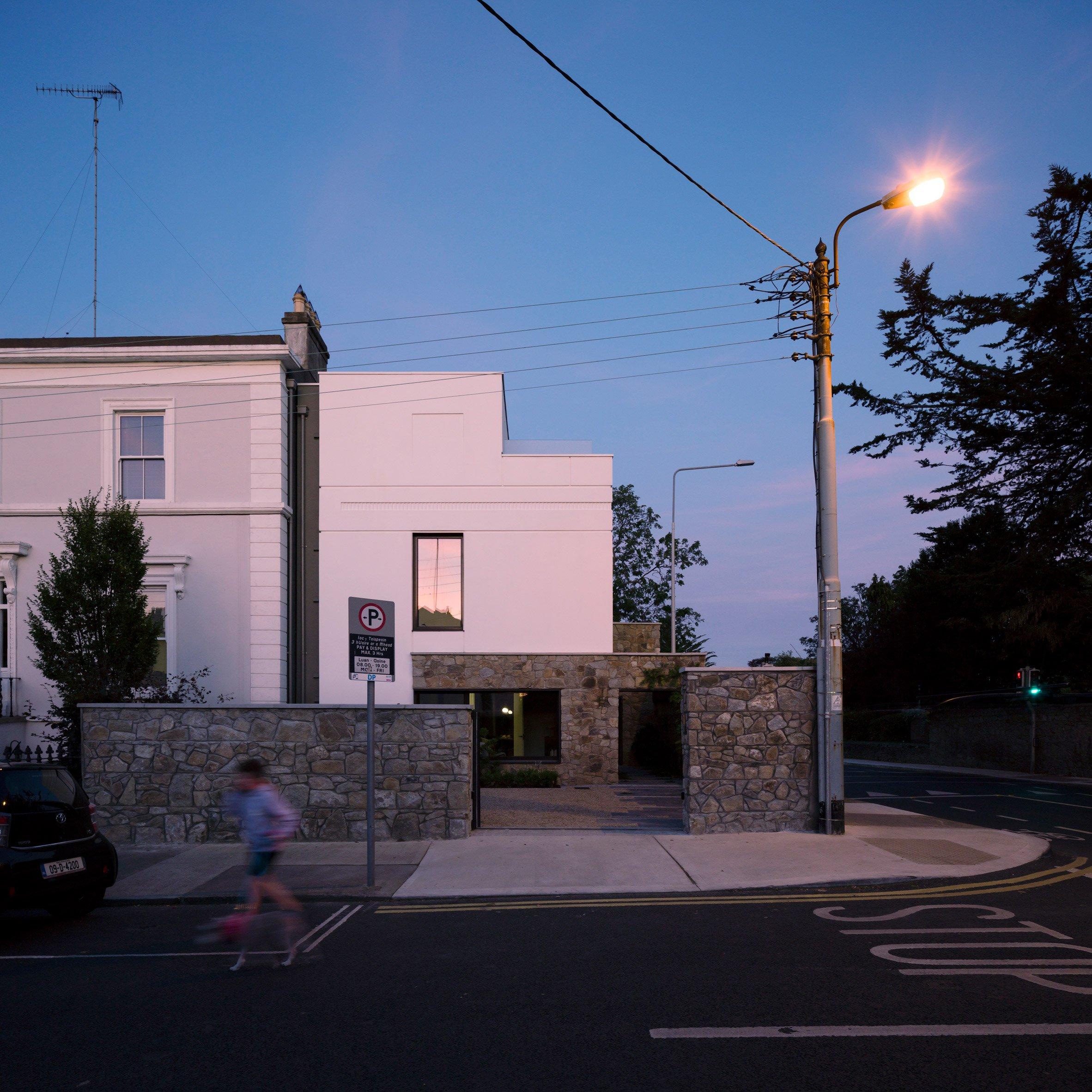 Facade of Corner House by Studio 304