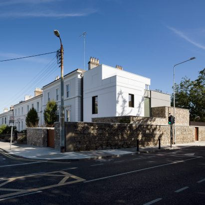 Street view of Corner House by Studio 304