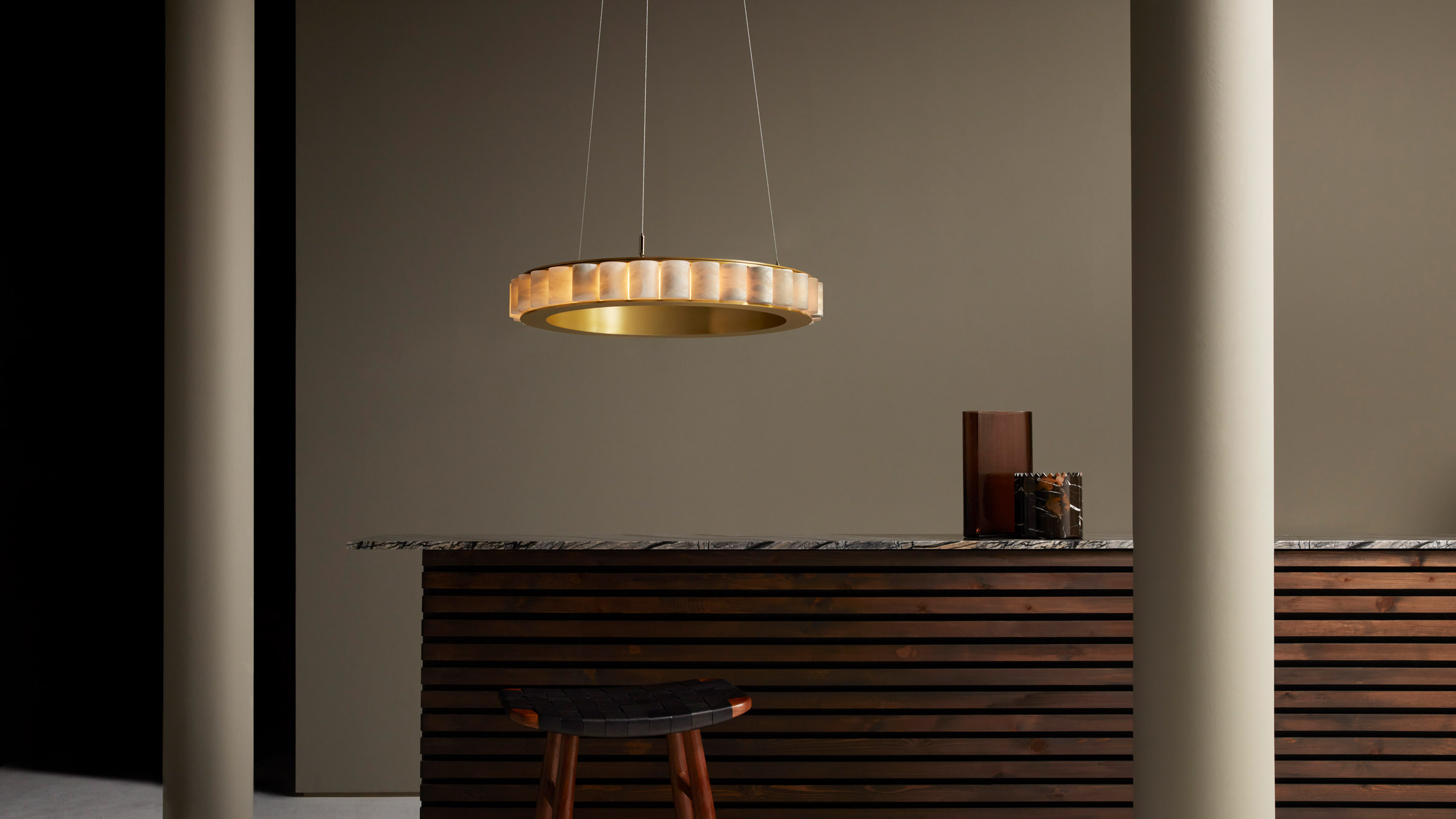 Chandelier by CTO Lighting