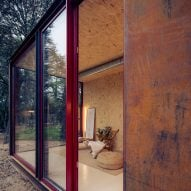 View into Tini cabin