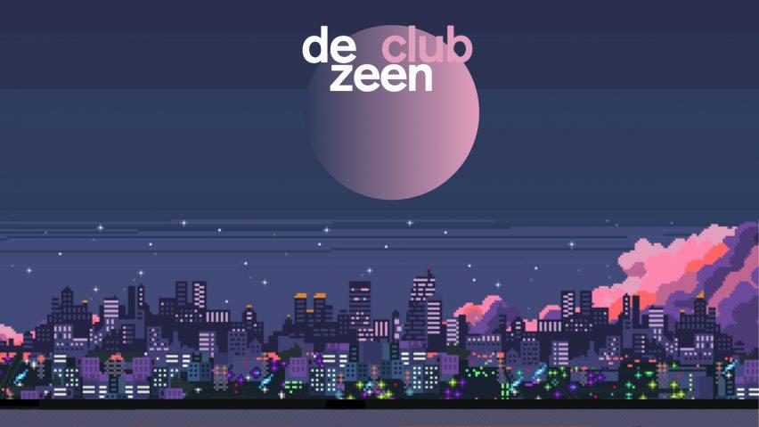 Dezeen Club banner as featured in Dezeen Events Guide April 2021