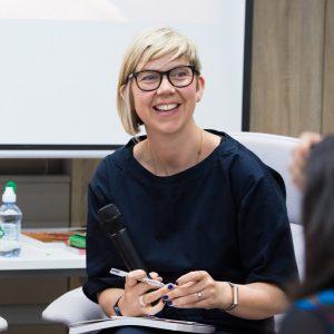 Dezeen Awards 2021 judge Katie Treggiden