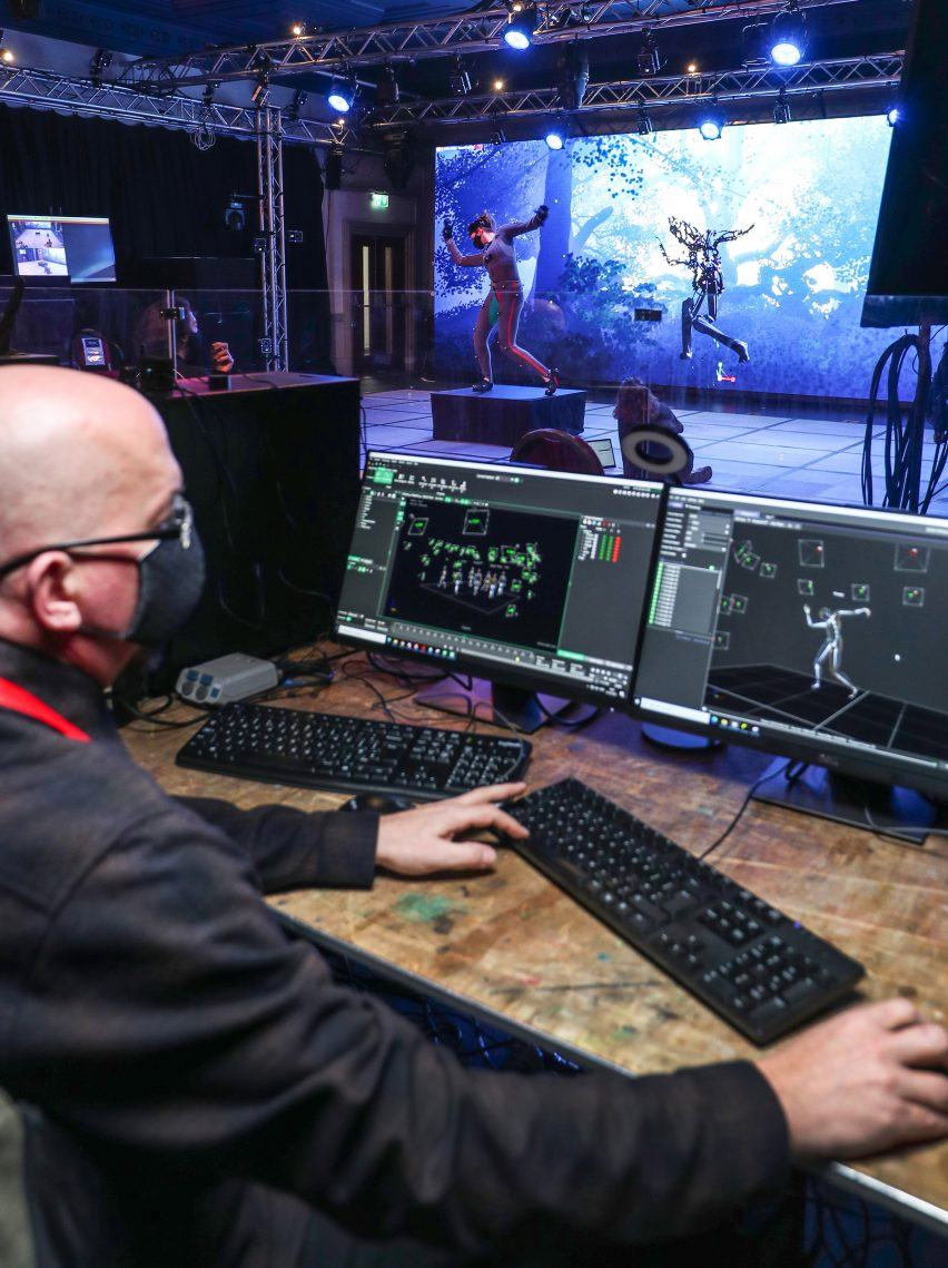 Behind the scenes of real-time animation for Dream play by the Royal Shakespeare company using Unreal Engine