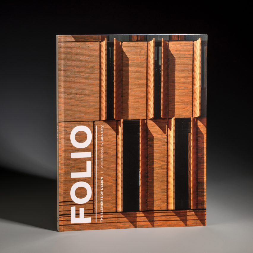 The front cover of Folio magazine