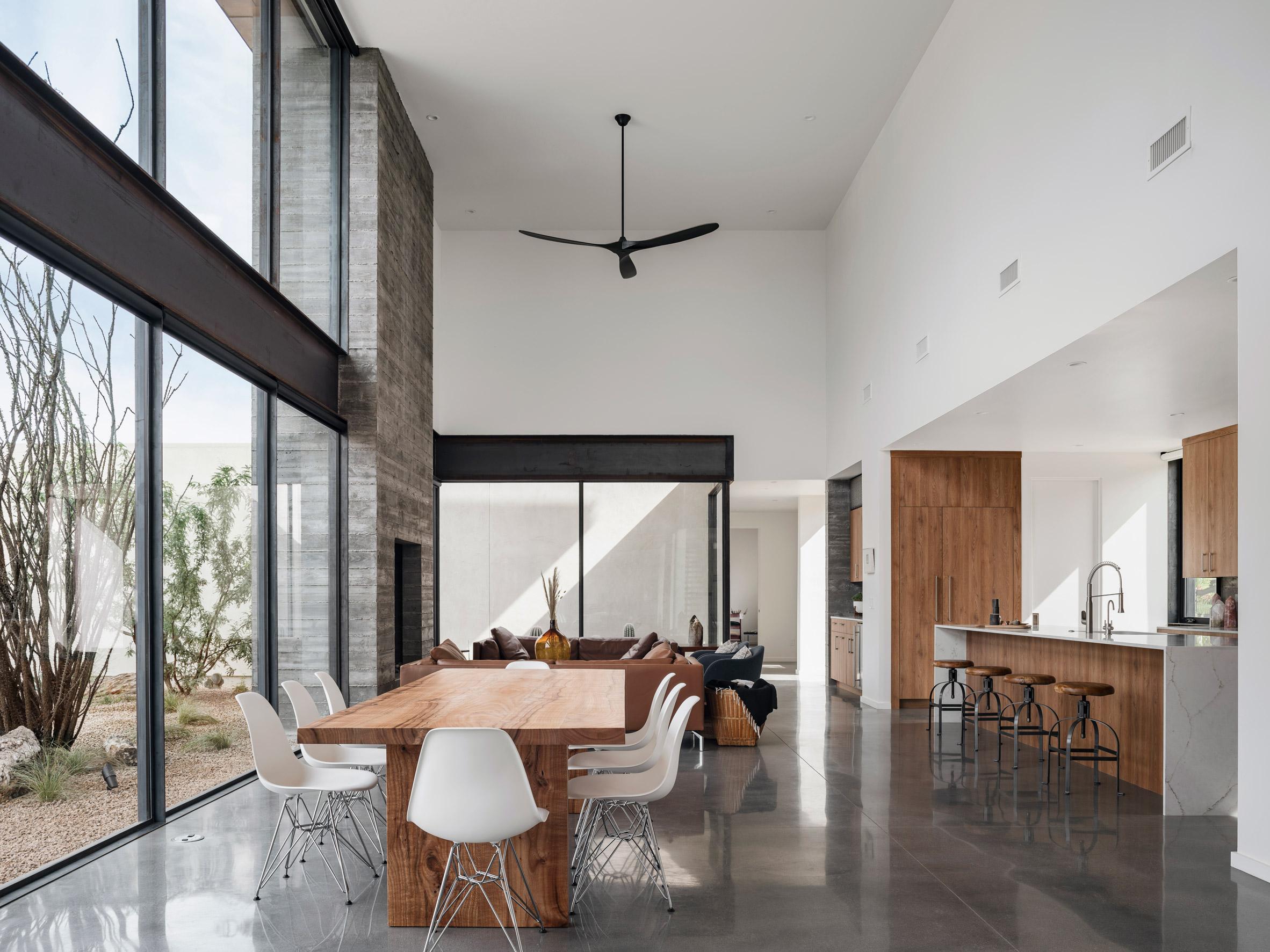 The Arizona home's kitchen