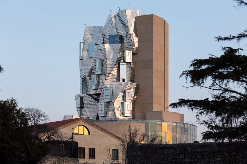 Frank Gehry's Luma Arles arts tower