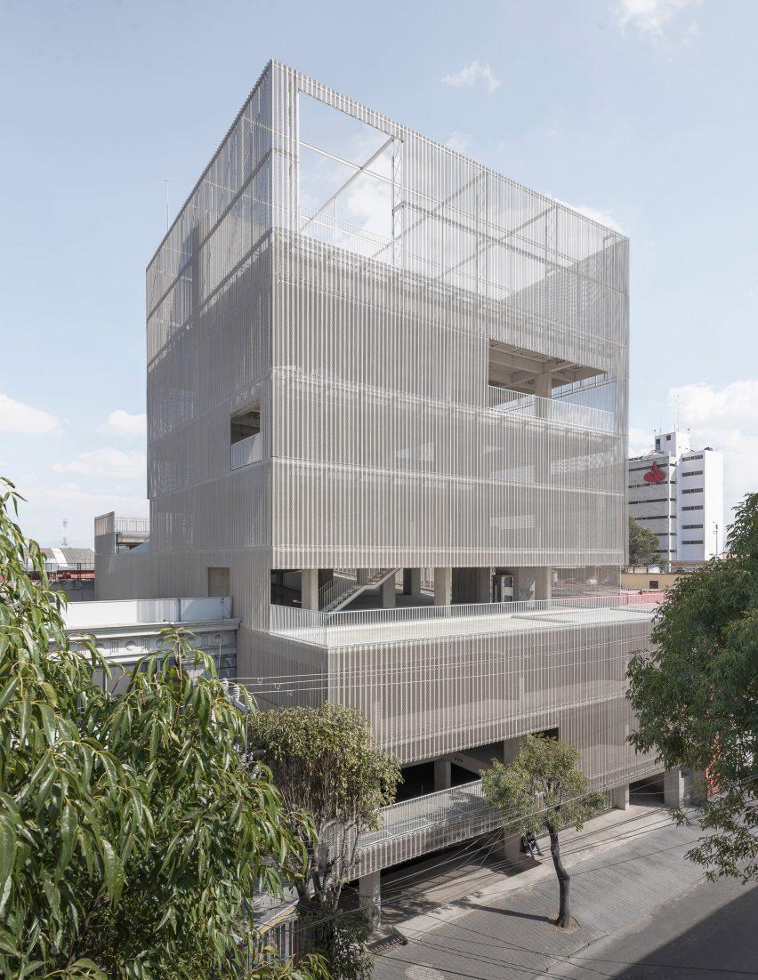 Estación San José is a car park and co-working space