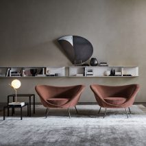 D.154.2 armchair by Gio Ponti for Molteni&C