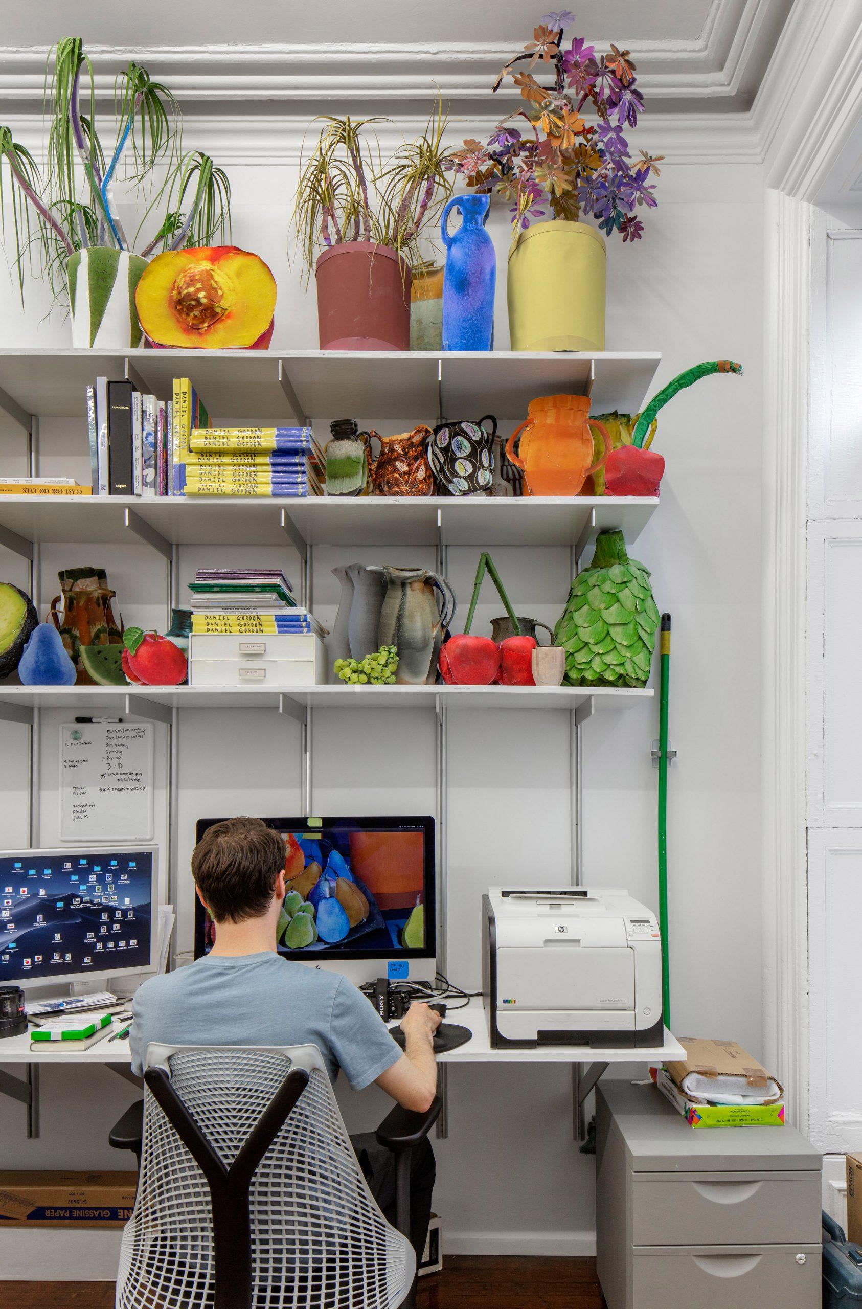 Daniel Gordon's photo studio