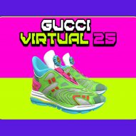 Gucci releases first virtual sneaker that can only be worn in digital environments