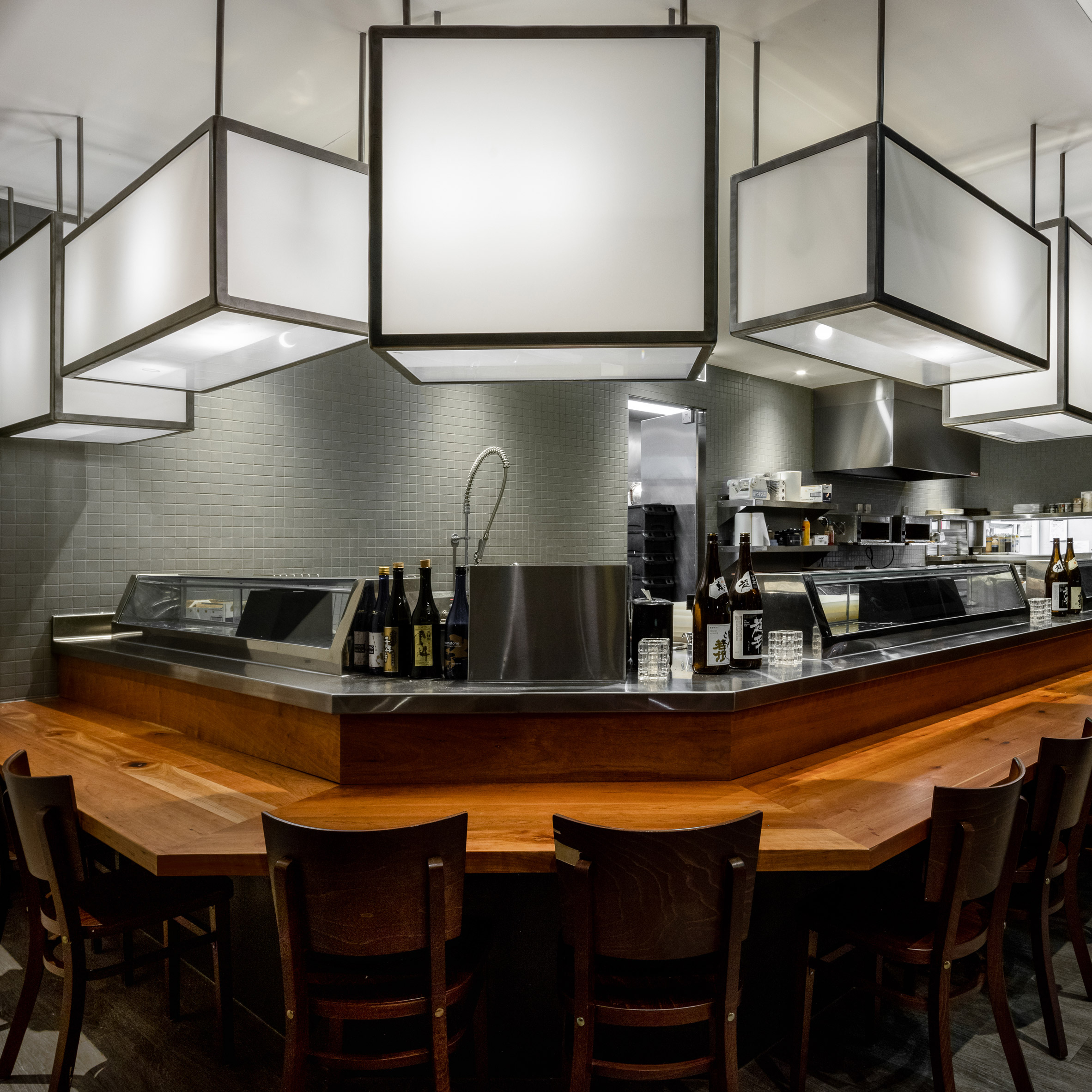 Hapi Sushi by Roth Sheppard Architects
