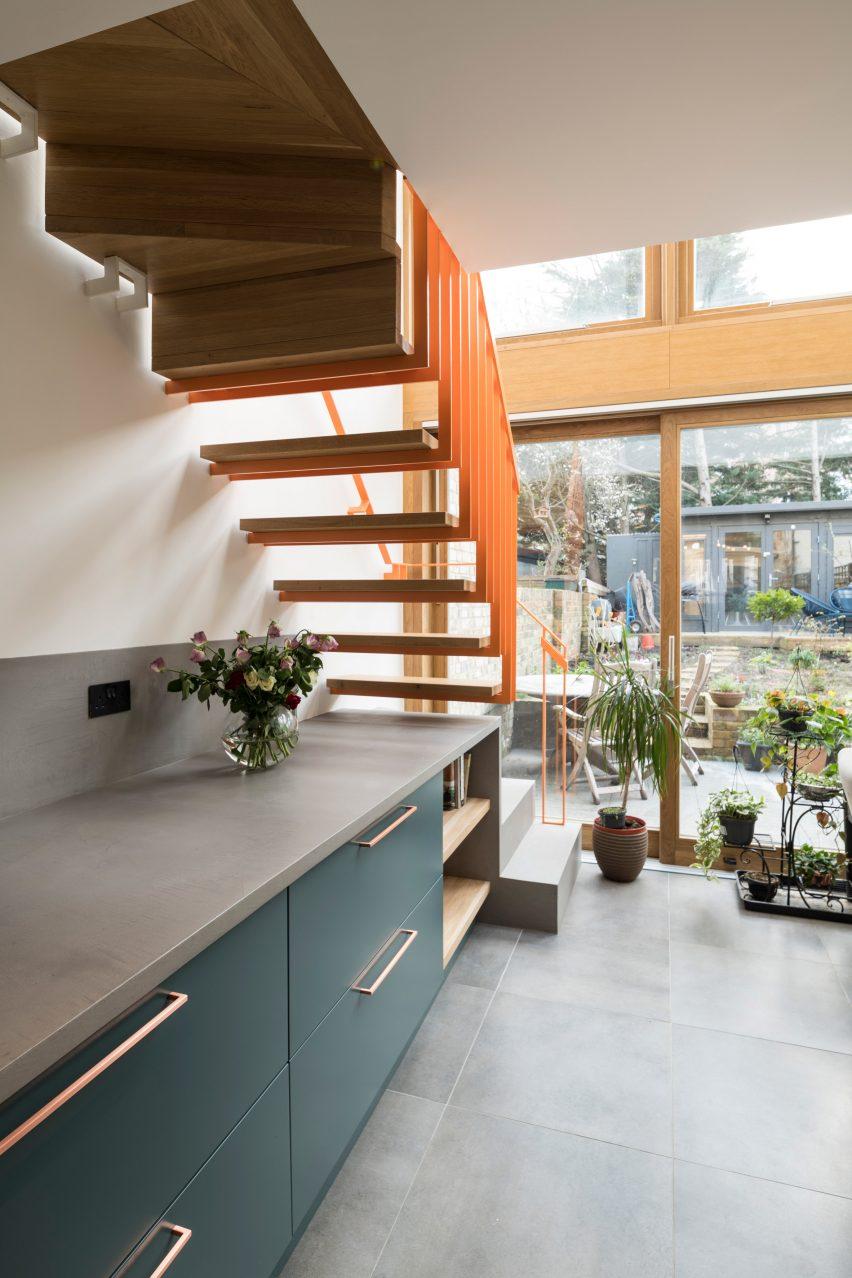 Kitchen of Haringey Glazed Extension by Satish Jassal Architects