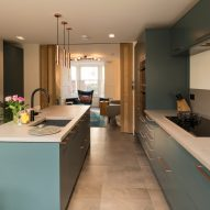 Kitchen in Haringey Glazed Extension by Satish Jassal Architects