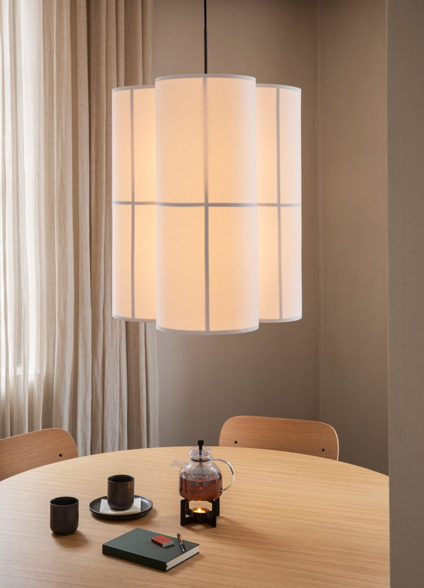 Hashira lanterns by Norm Architects for Menu