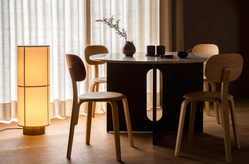 Hashira floor lamp by Norm Architects for Menu