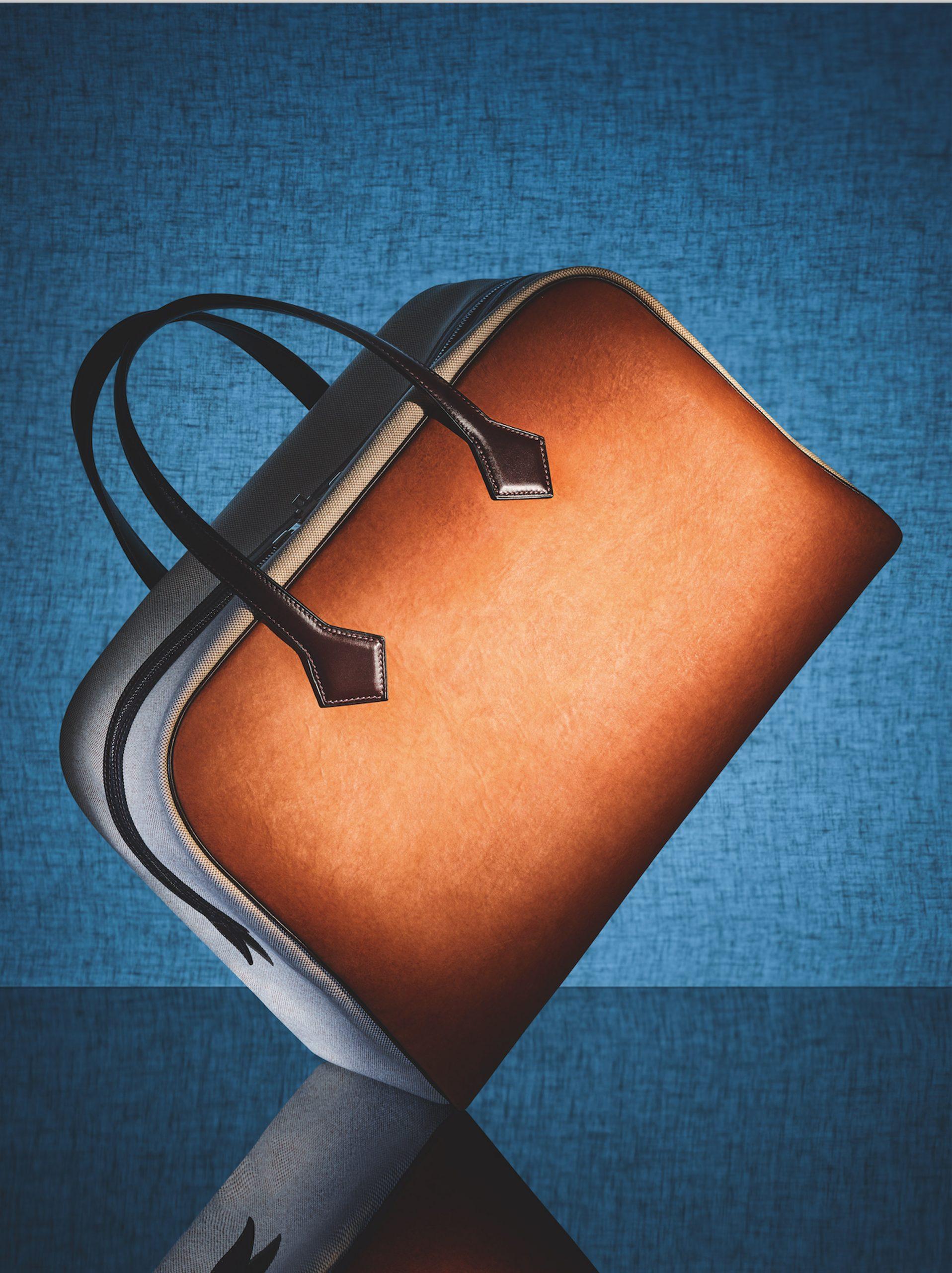 Hermes Victoria bag in Sylvania mycelium leather by MycoWorks