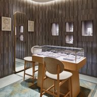 The interiors of Hermès Omotesando by RDAI