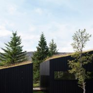 The blackened-timber facades of Holiday Home by Thingvallavatn