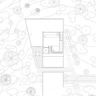 The first floor plan of Holiday Home by Thingvallavatn by KRADS