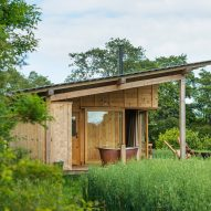 A wooden cabin in England by Out of the Valley