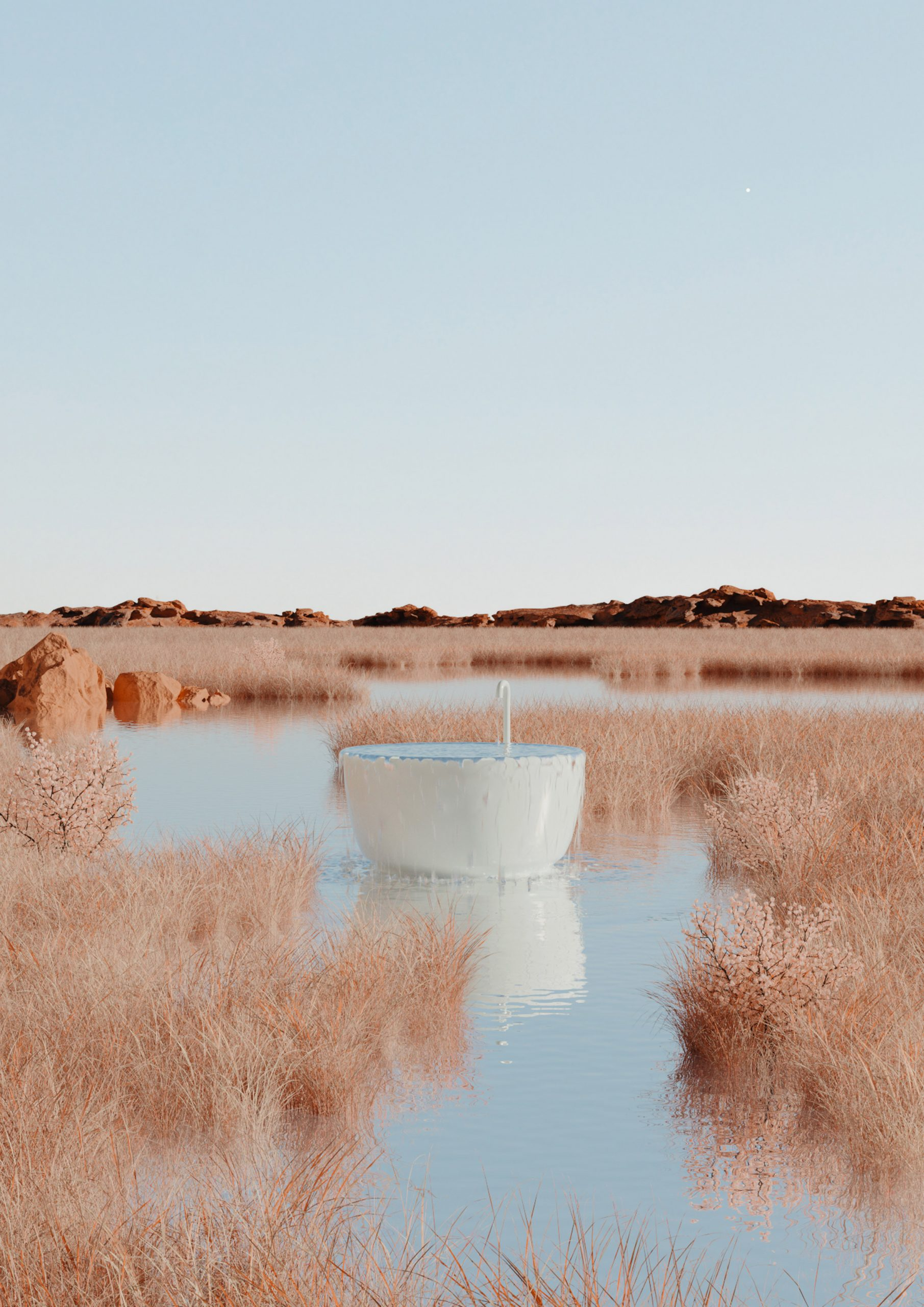 Weekly Wash render from Homesick NFT auction by Alexis Christodoulou