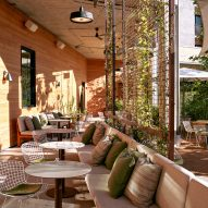 More details of Summer House on Music Lane's outdoor seating area