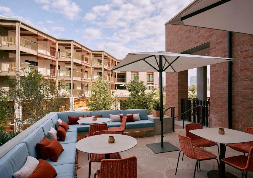 Hotel Magdalena's pool bar