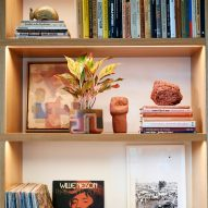 Hotel Magdalena's book collection