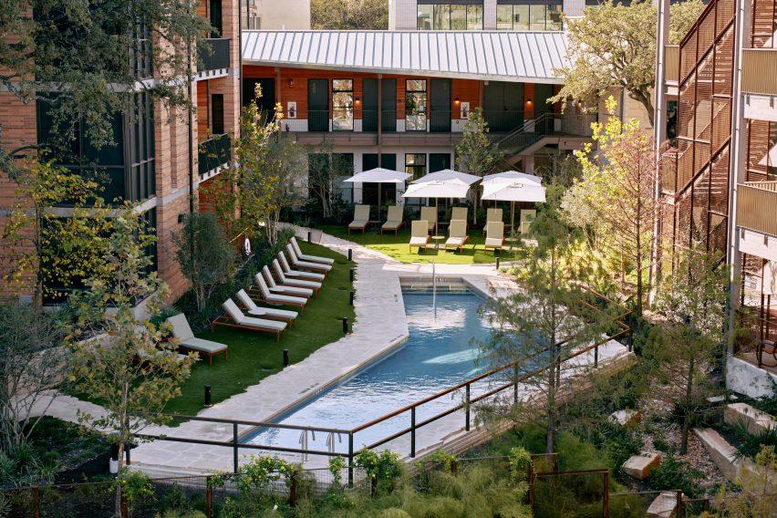 Hotel Magdalena's swimming pool
