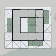 House of Four Gardens' floor plan