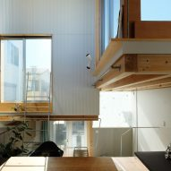 Stacked-box house in Tokyo