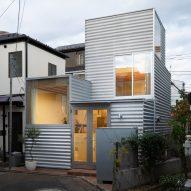 "Unemori Architects creates small blocky house on ""tiny plot"" in Tokyo"