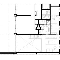 Plans for Home of the Arts apartment in Amsterdam