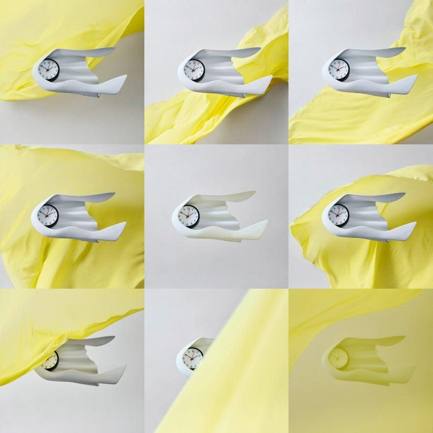 Daniel Arsham wall clock for Ikea Art Event 2021
