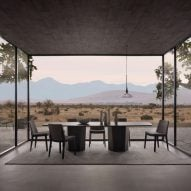 Issho dining table by King