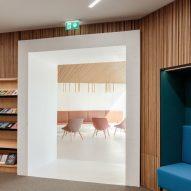 Kirkkonummi library by JKMM Architects plans