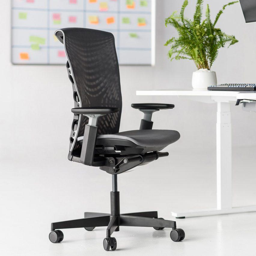 Black Kinn office chair