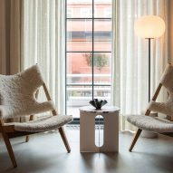 A pair of Knitting chairs by Ib Kofod-Larsen