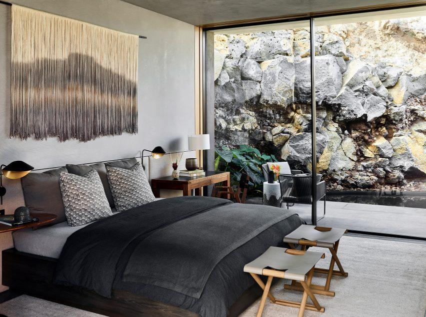 Bedroom of Kua Bay Residence