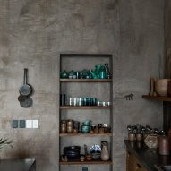 Rustic details in the kitchen
