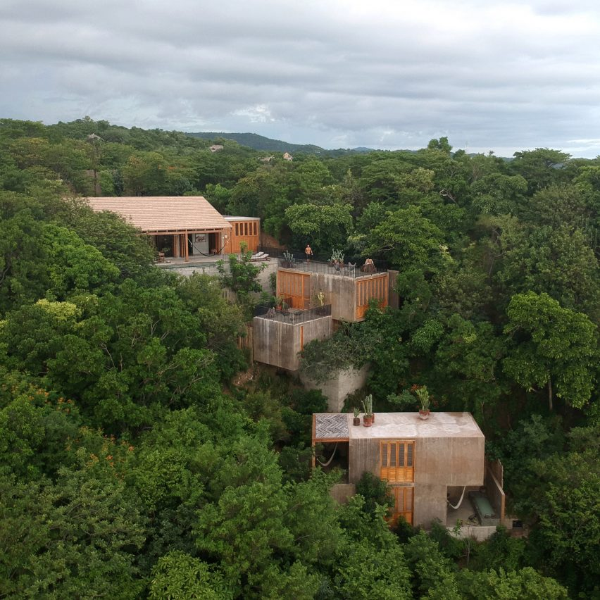 La Extraviada is nestled on a hillside