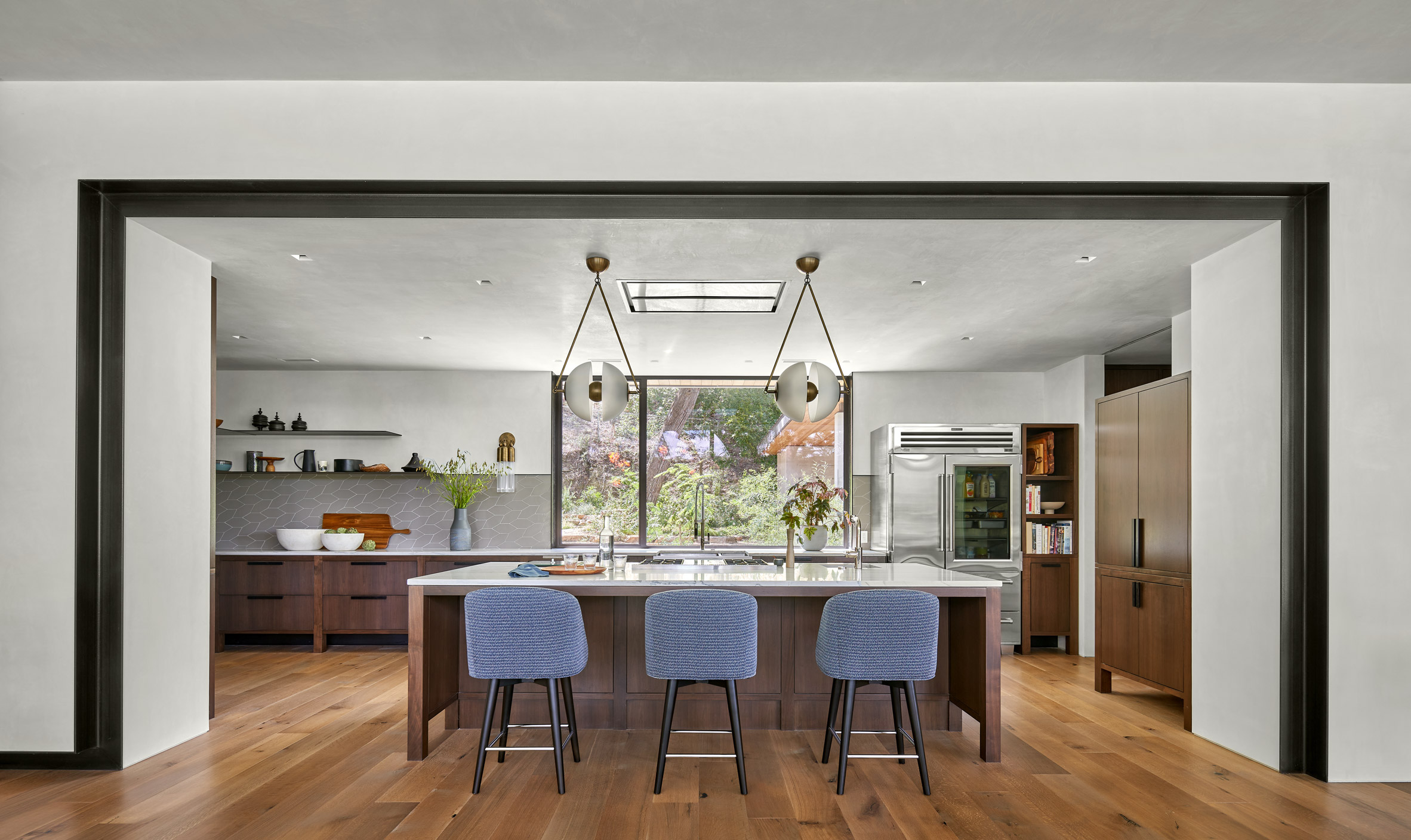 The Ski Slope Residence is bright and airy