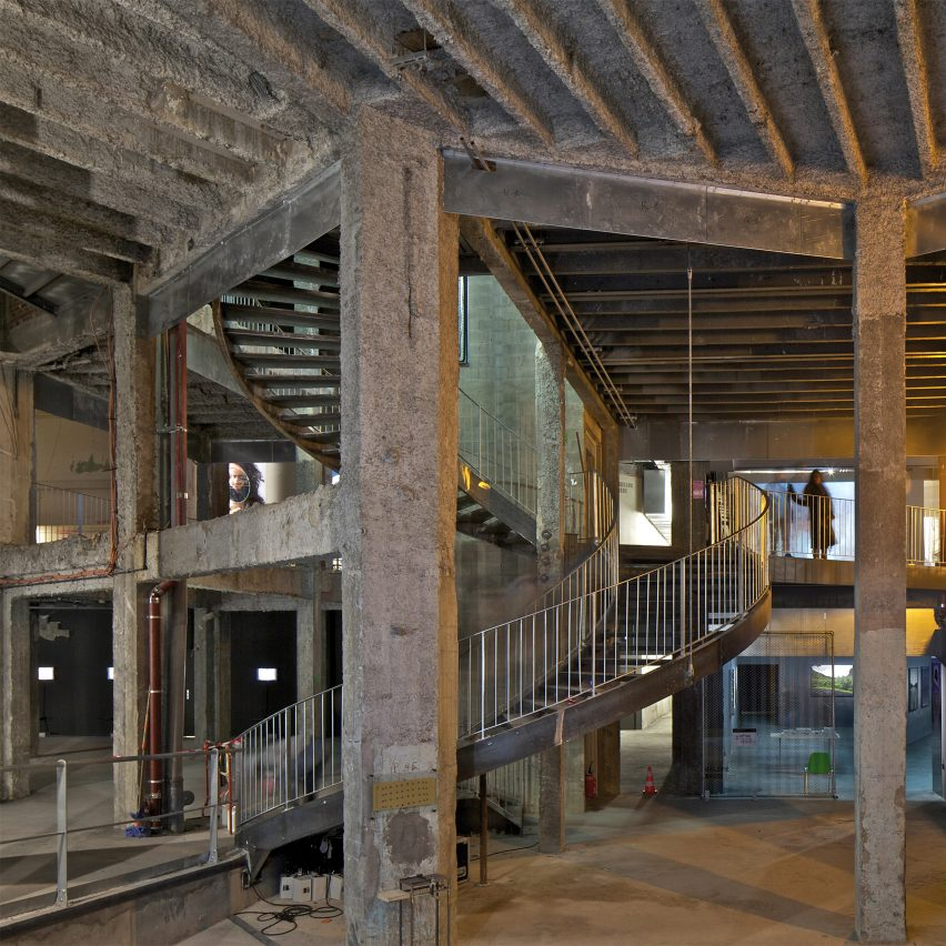 The basement of the Palais de Tokyo in France